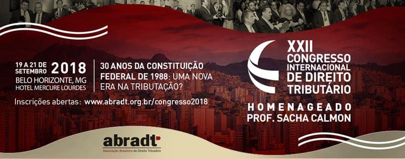 Professor Sacha Calmon será o homenageado do XXII Congresso Internacional da Abradt